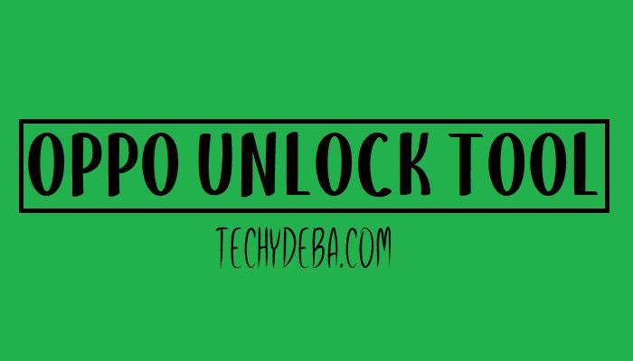 Oppo Unlock Tool