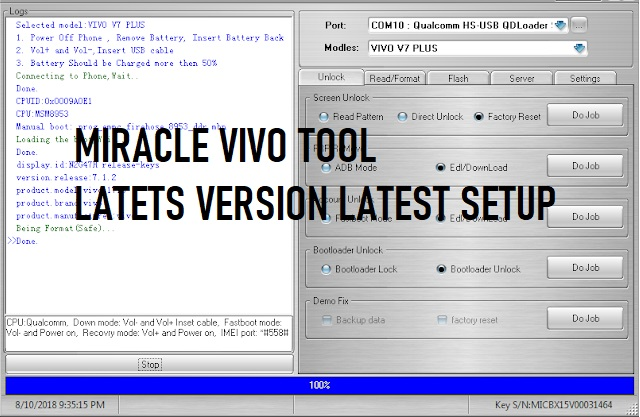 Miracle Vivo Tool Latest Version