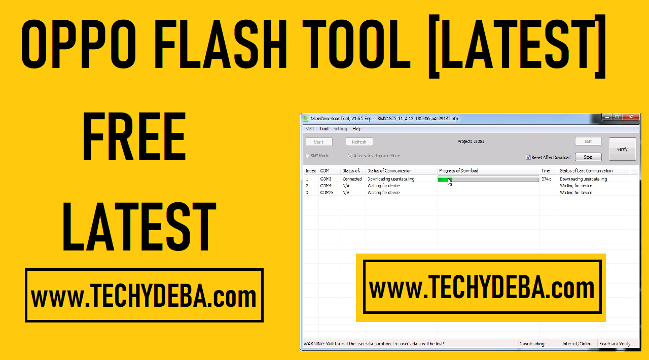 Oppo Flash Tool (Oppo Download tool 2020)