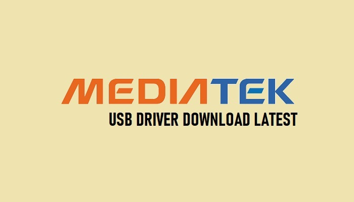 Download MTK USB Driver (Mediatek) All (Complete Package) Latest 2020